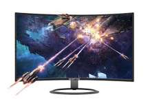 "Sceptre 27"" Curved 75Hz LED Monitor C278W-1920R Full HD 1080P HDMI DisplayPort VGA Speakers, Ultra Thin Metal Black, 1800R immersive Curvature, 2018"